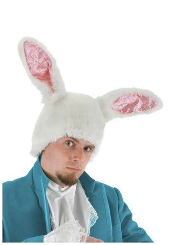 Leg Avenue Easter Accessory Plush White Bunny Rabbit Ears Headband