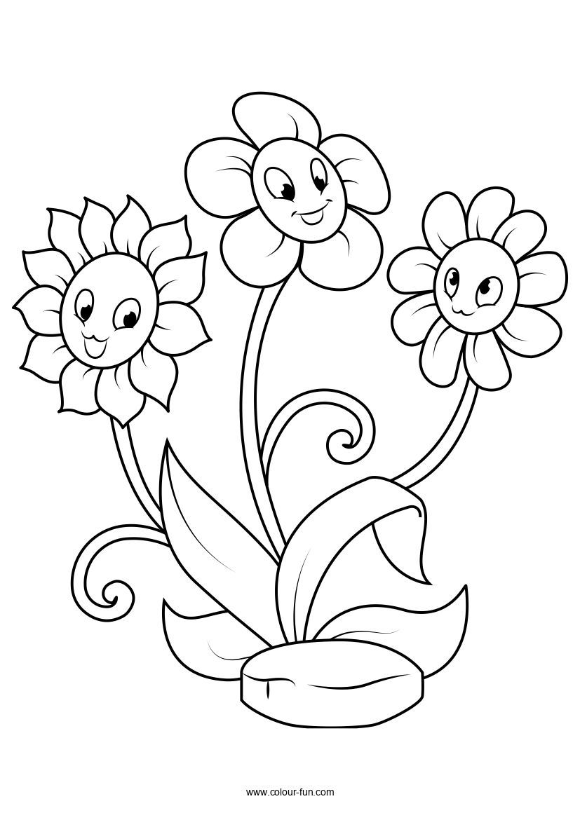 Free Flower Colouring Pages Colour Fun In 2020 Printable Flower Coloring Pages Flower Coloring Pages Flower Coloring Sheets