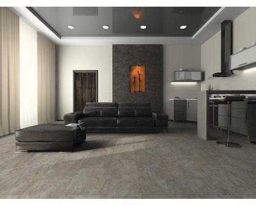 Laminat Visio Grande Buntschiefer bei HORNBACH kaufen Tiles for - wohnzimmer grau laminat
