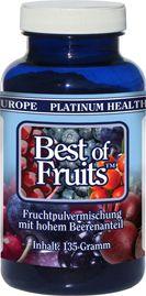 more health – more wealth – more life mit www.gesundheits-konzepte.com    Best of Fruits™ Fruchtpulvermischung aus schonend getrockneten Früchten  Beeren gesund und schlank
