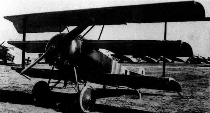 Il Fokker triplano del Barone Rosso