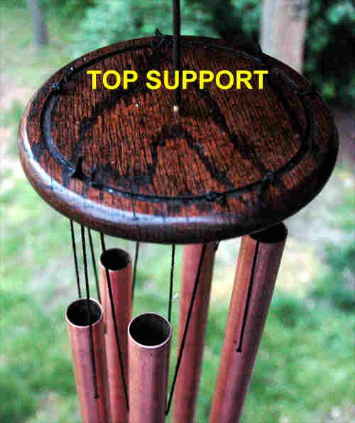 Wind Chime Top Support Plate Wind Chimes Diy Wind Chimes Make Wind Chimes