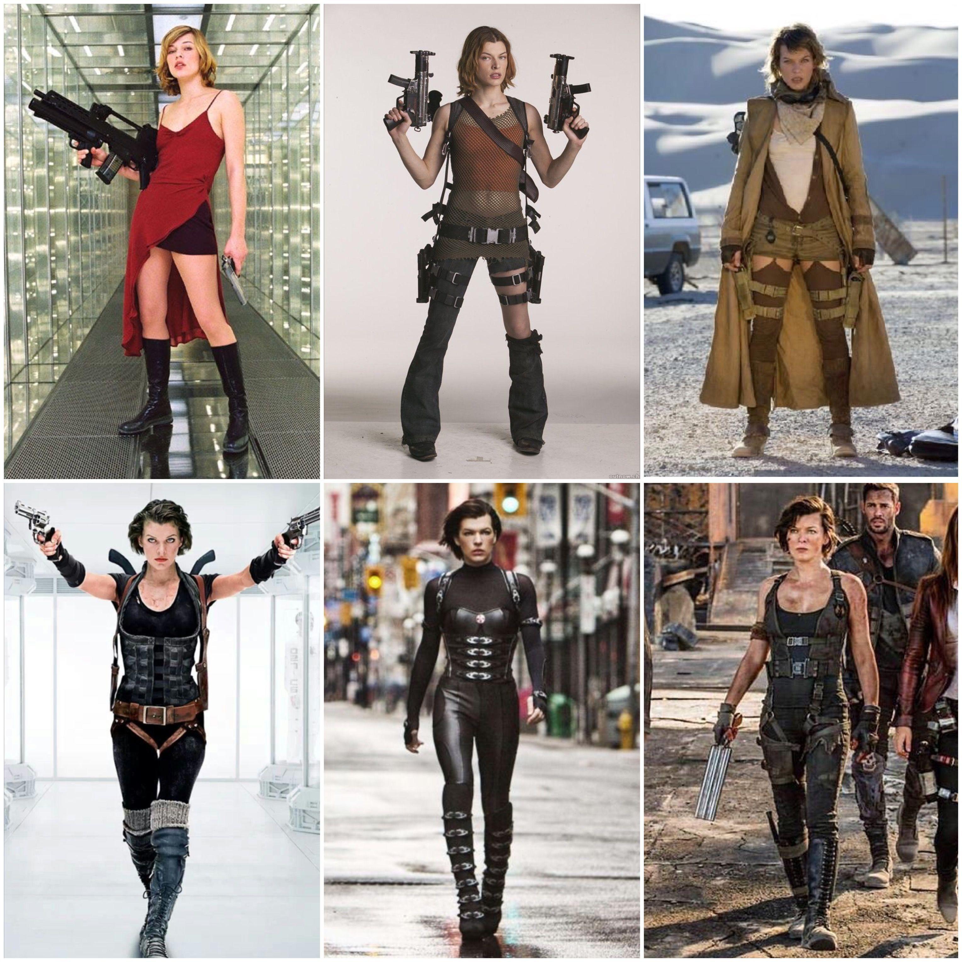 Alice Resident Evil 1 6 Artist3121 Resident Evil Costume Resident Evil Movie Resident Evil Alice