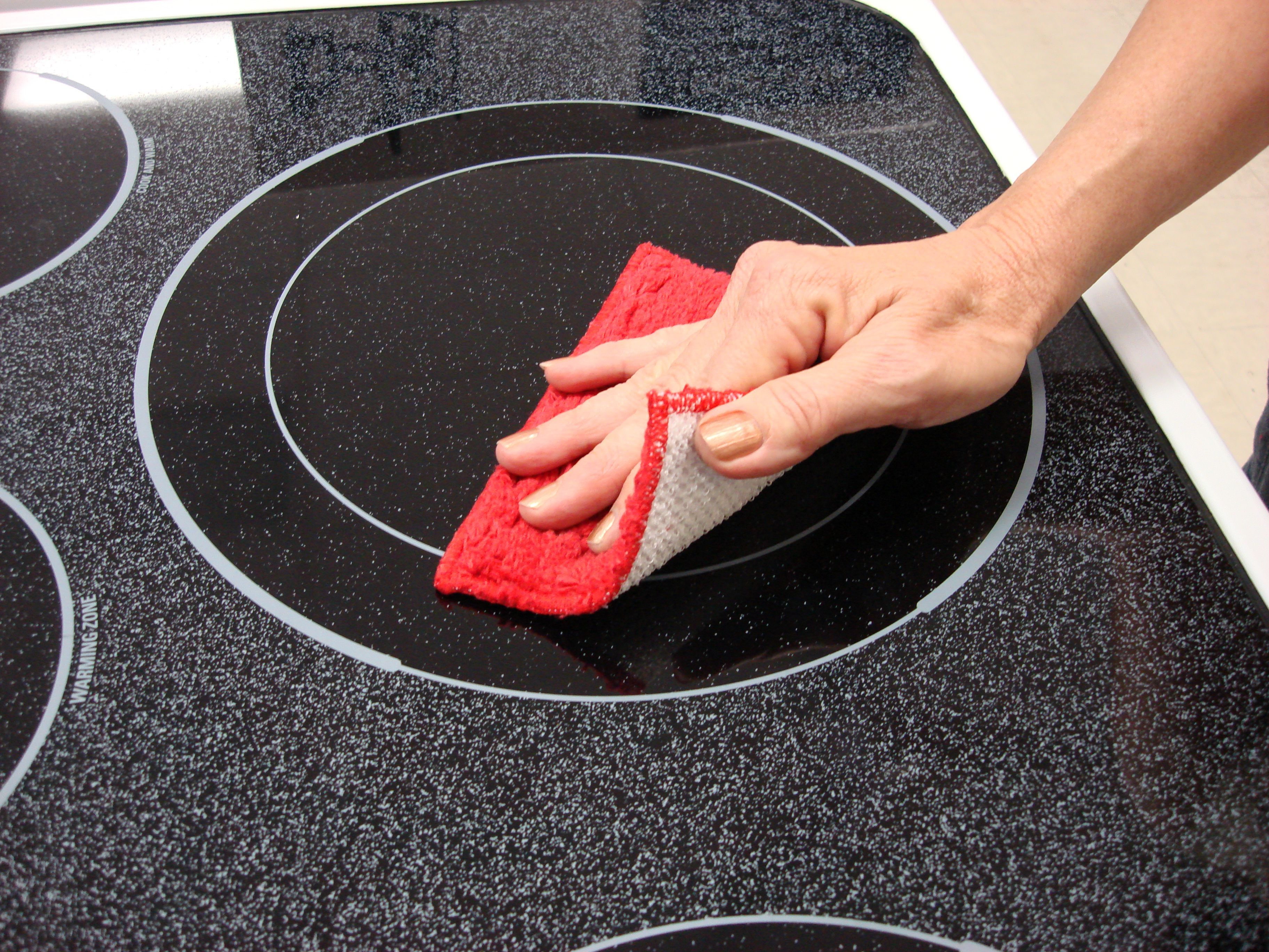 The Shrubbie is great for stove tops, sinks, teflon pans, golf clubs! non scratch!!!! even cleans the shower!