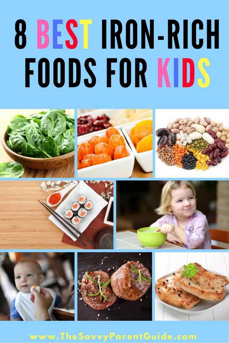 Iron Rich Recipes For Kids Iron rich foods, Rich recipe