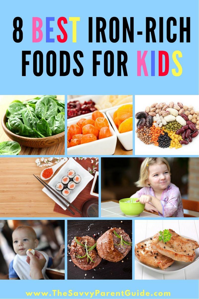 8 Best IronRich Foods For Children Iron rich foods