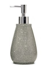 silver glitter bathroom accessories. Silver Glitter Resin Dispenser  Bathroom Accessories Ideas for the House Pinterest