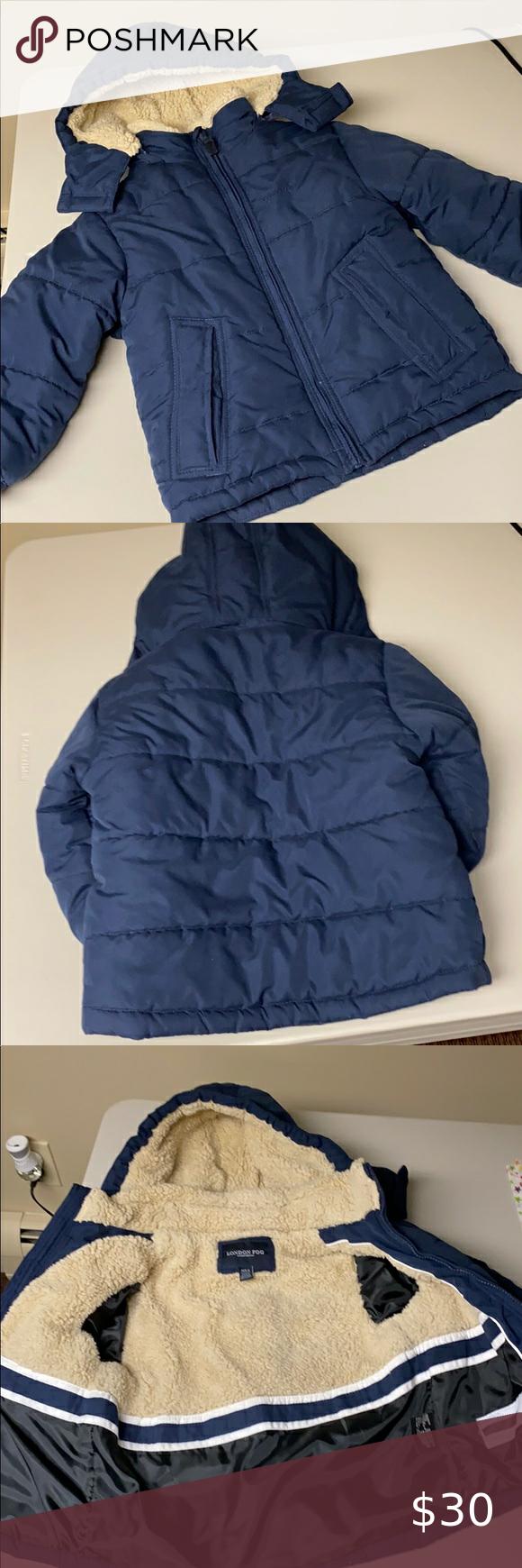 London Fog Boys Winter Jacket Size M 5 6 Navy Boys Winter Jackets Girls Winter Coats Winter Jackets [ 1740 x 580 Pixel ]