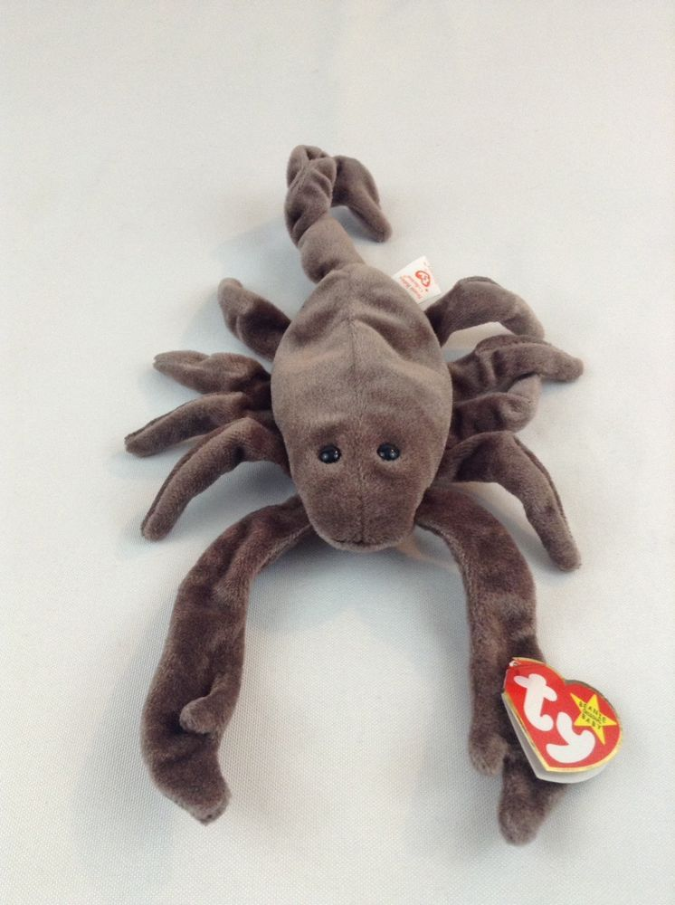 33e3bd6a19c 1998 Ty Beanie Baby Stinger The Scorpion Stuffed Plush Animal Toy ...