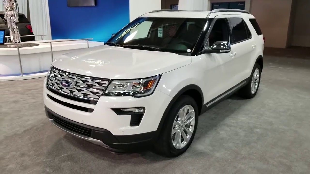 2019 Ford Explorer Powerful Exterior And Interior Design 2019 Ford Explorer Ford Explorer Ford