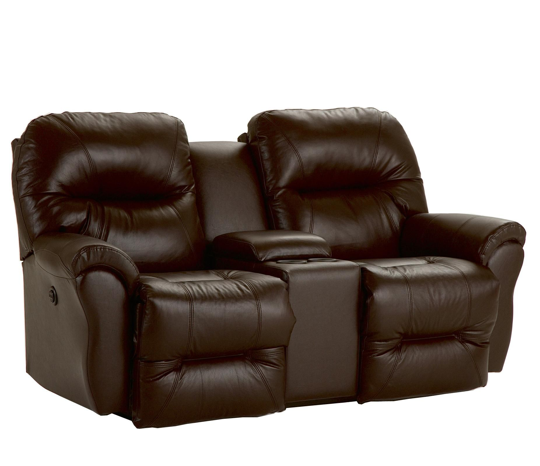 Bodie Space Saver Reclining Loveseat By Best Home Furnishings  ~ Entertainment Sofa Furniture