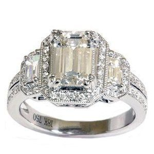 1920 s wedding theme vintage diamond engagement ringsjpg - Vintage Wedding Rings 1920