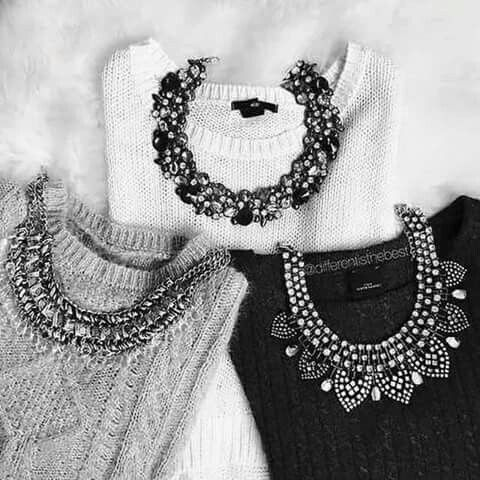 3337483ad0f3 Collares+Sweater Μόδα Indie
