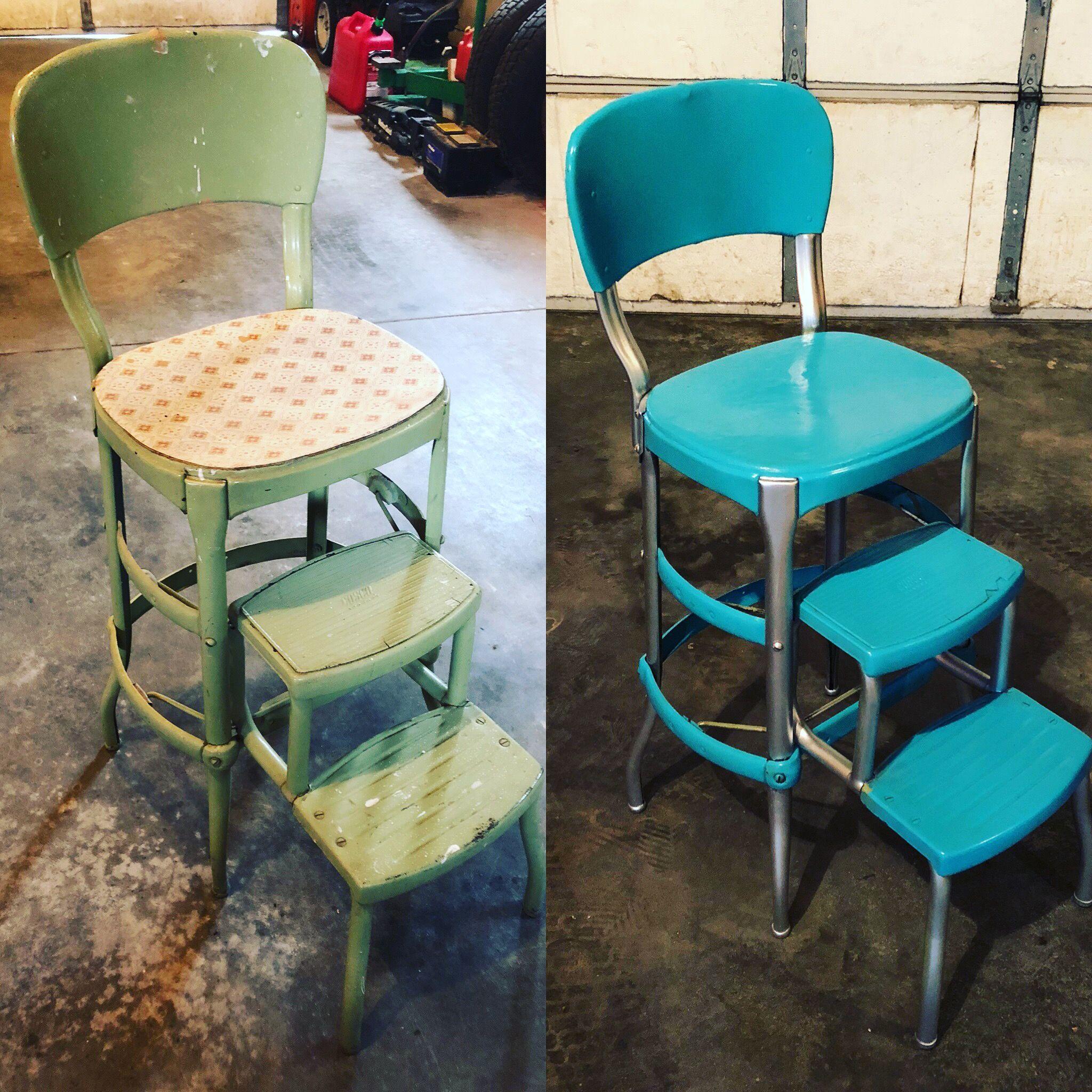 Brilliant Cosco Step Stool Make Over Home Projects In 2019 Inzonedesignstudio Interior Chair Design Inzonedesignstudiocom