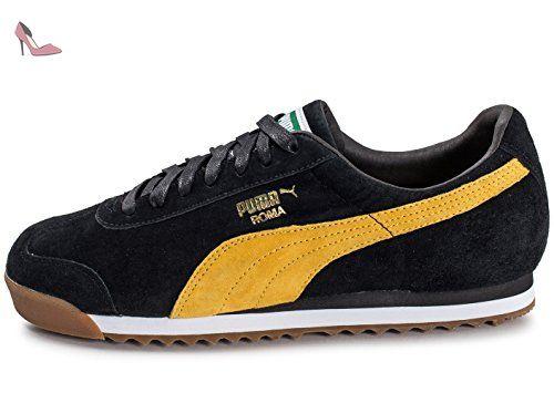 Soldes > puma noir et jaune > en stock