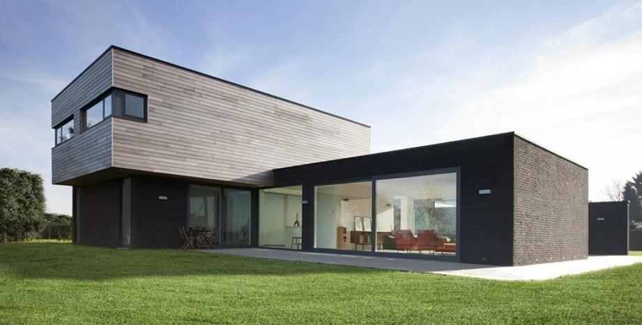 maison moderne bois recherche google - Maison Moderne Bois