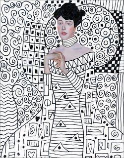 Klimt Template Free Download Klimt Art Kids Art Projects