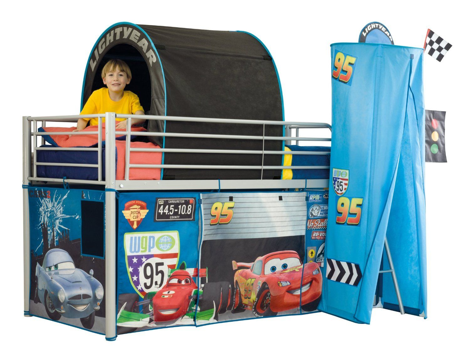 Disney Cars Mid Sleeper Bed Tent Pack  sc 1 st  Pinterest & Disney Cars Mid Sleeper Bed Tent Pack | Groovy Kids Decor ...