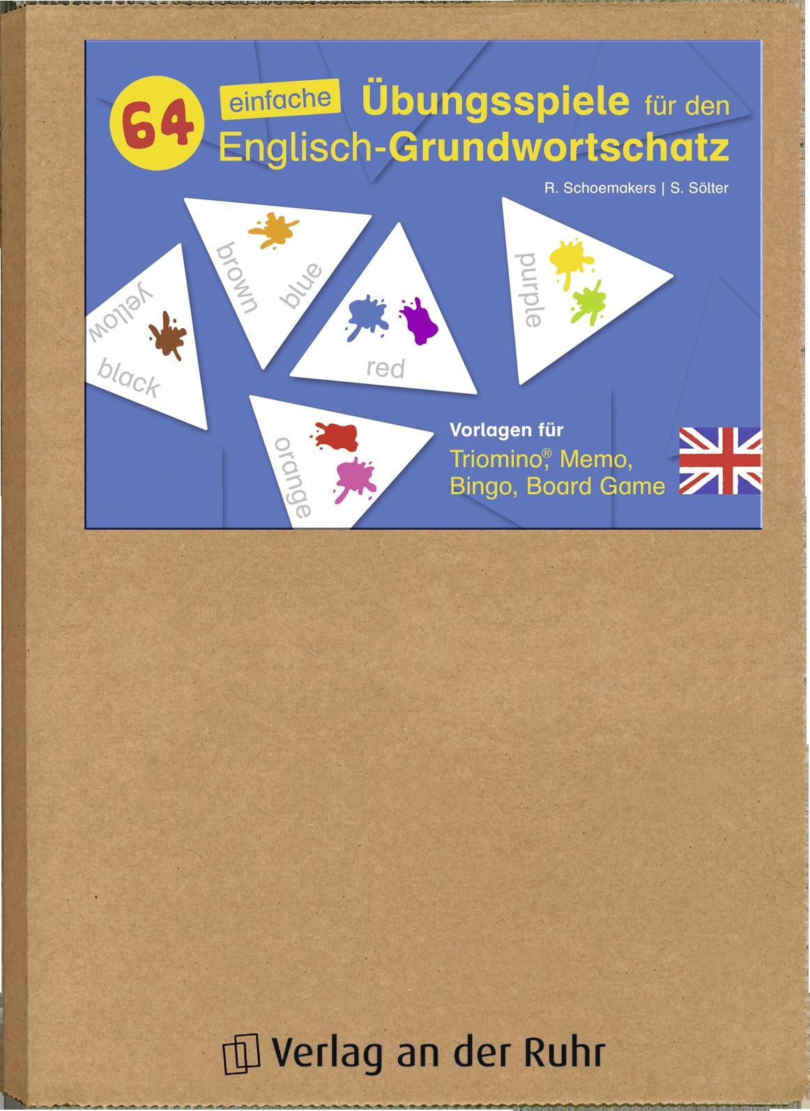64 einfache Übungsspiele für den Englisch-Grundwortschatz ...