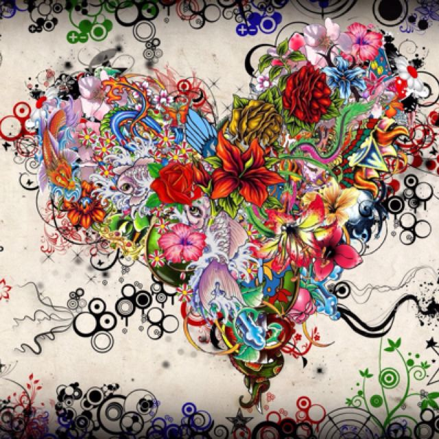 Photo Art Love Wallpapers Free Download Heart Art Love Art