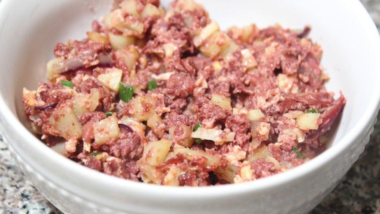 Ginisang Corned Beef At Patatas Filipino Recipes Pinterest