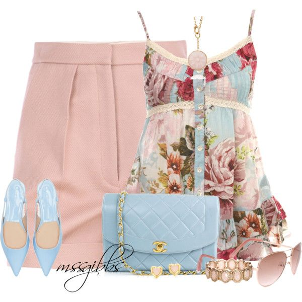 """La Vie En Rose"" by mssgibbs on Polyvore"