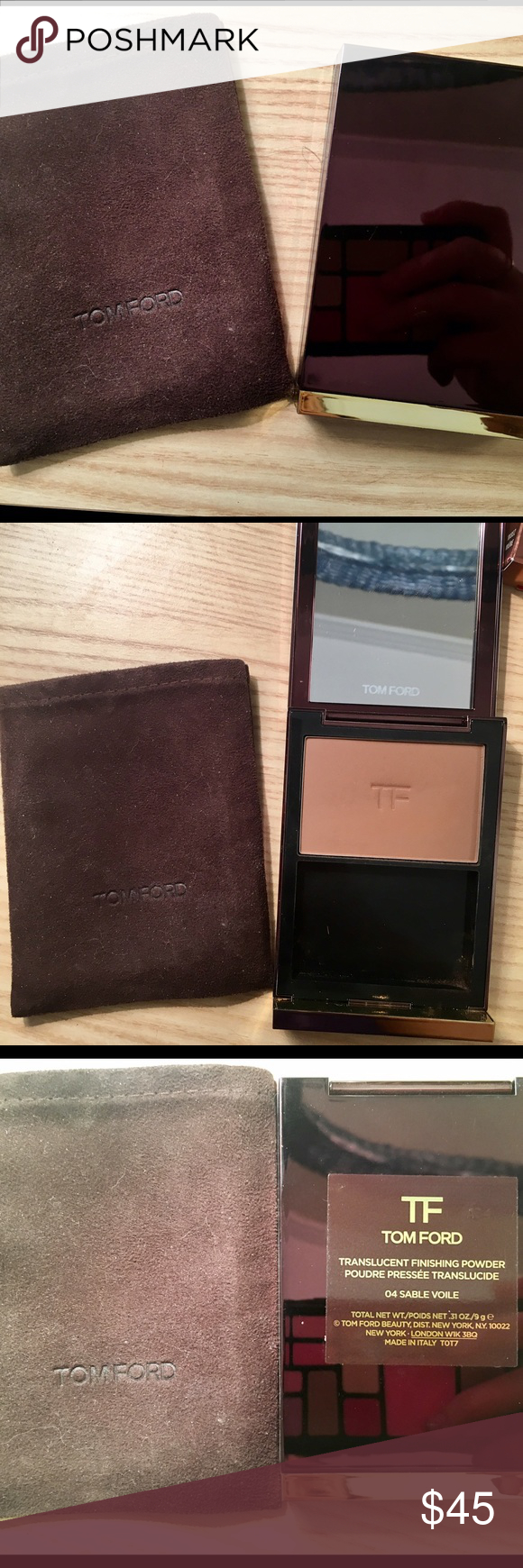 91be76994ed00 Tom Ford Translucent Finishing Powder Shade is 04 Sable Voile ...