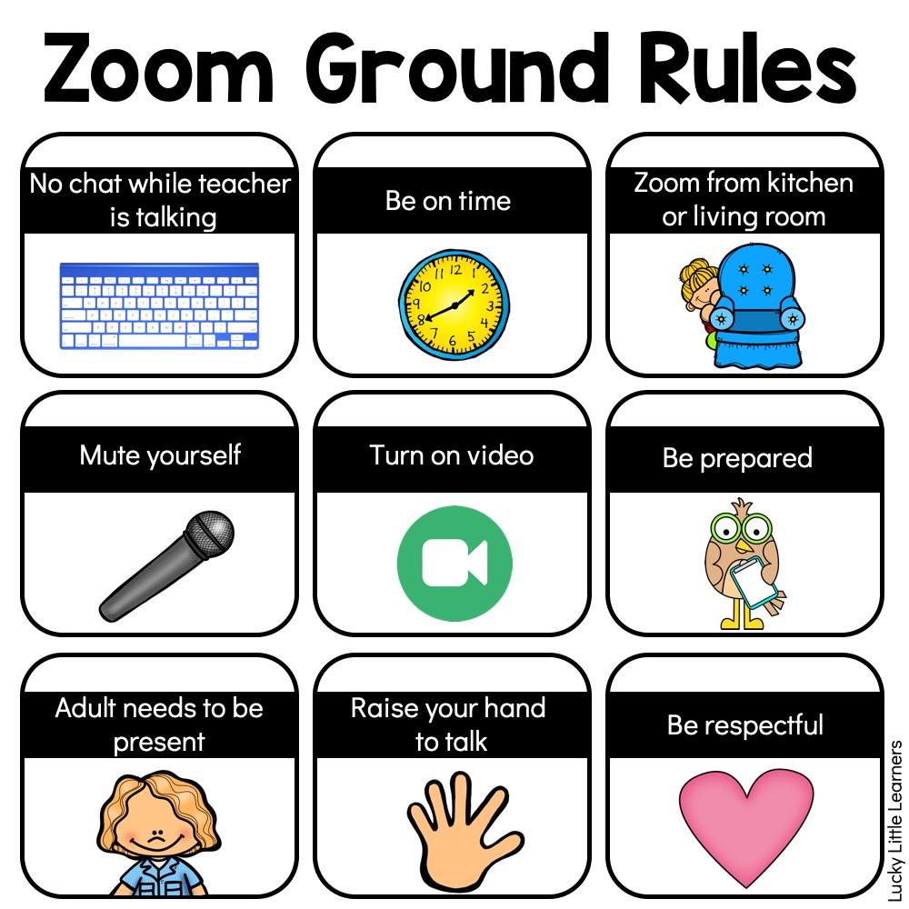 Zoom Activities to Use with Distance Learning Lucky