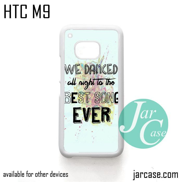 One Direction Lyrics We dance all night Phone Case for HTC One M9 ...