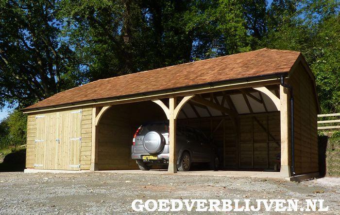 Afbeeldingsresultaat voor houten carport landelijk | Carport ...