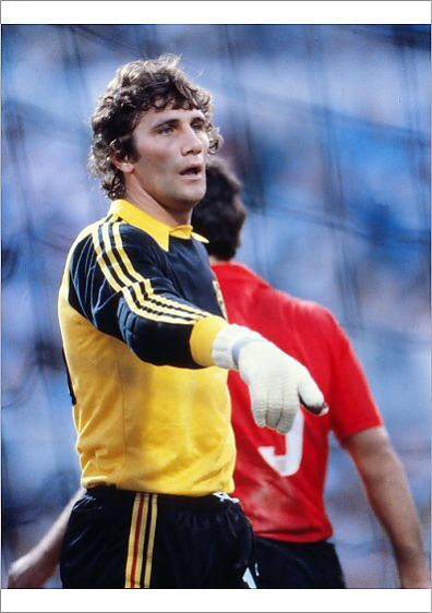 Belgium Goalkeeper Jean Marie Pfaff In Action In The Euro 80 Final Euro Championship Goalkeeper Pfaff