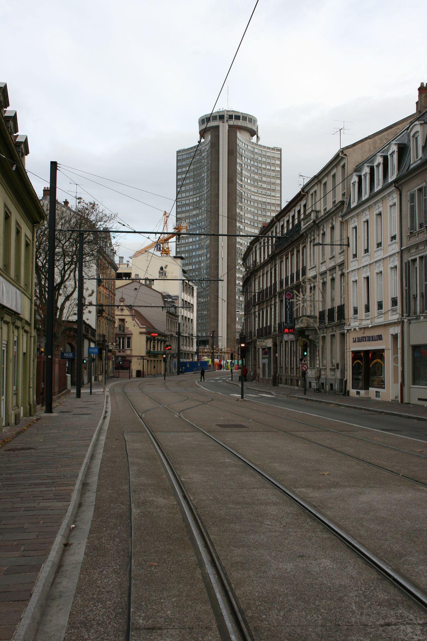 Avenue Kennedy et Tour de l Europe