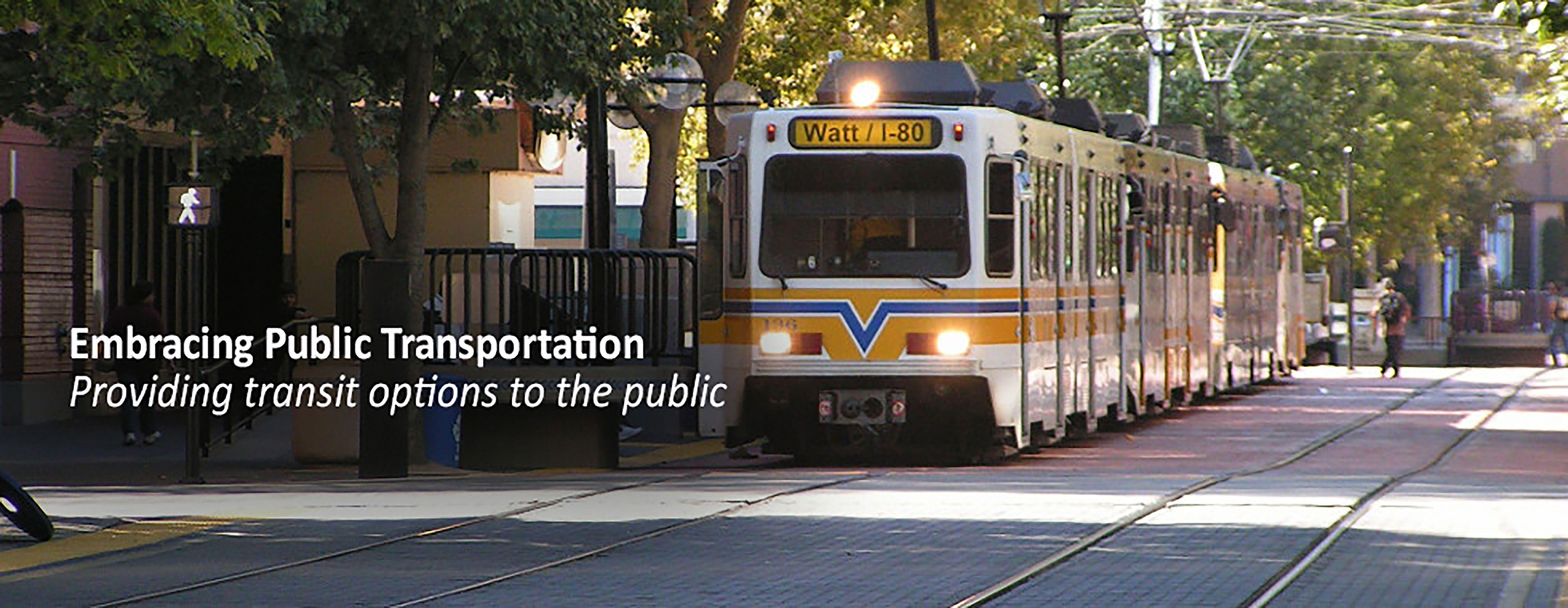 Walk Sacramento discussing various transportation