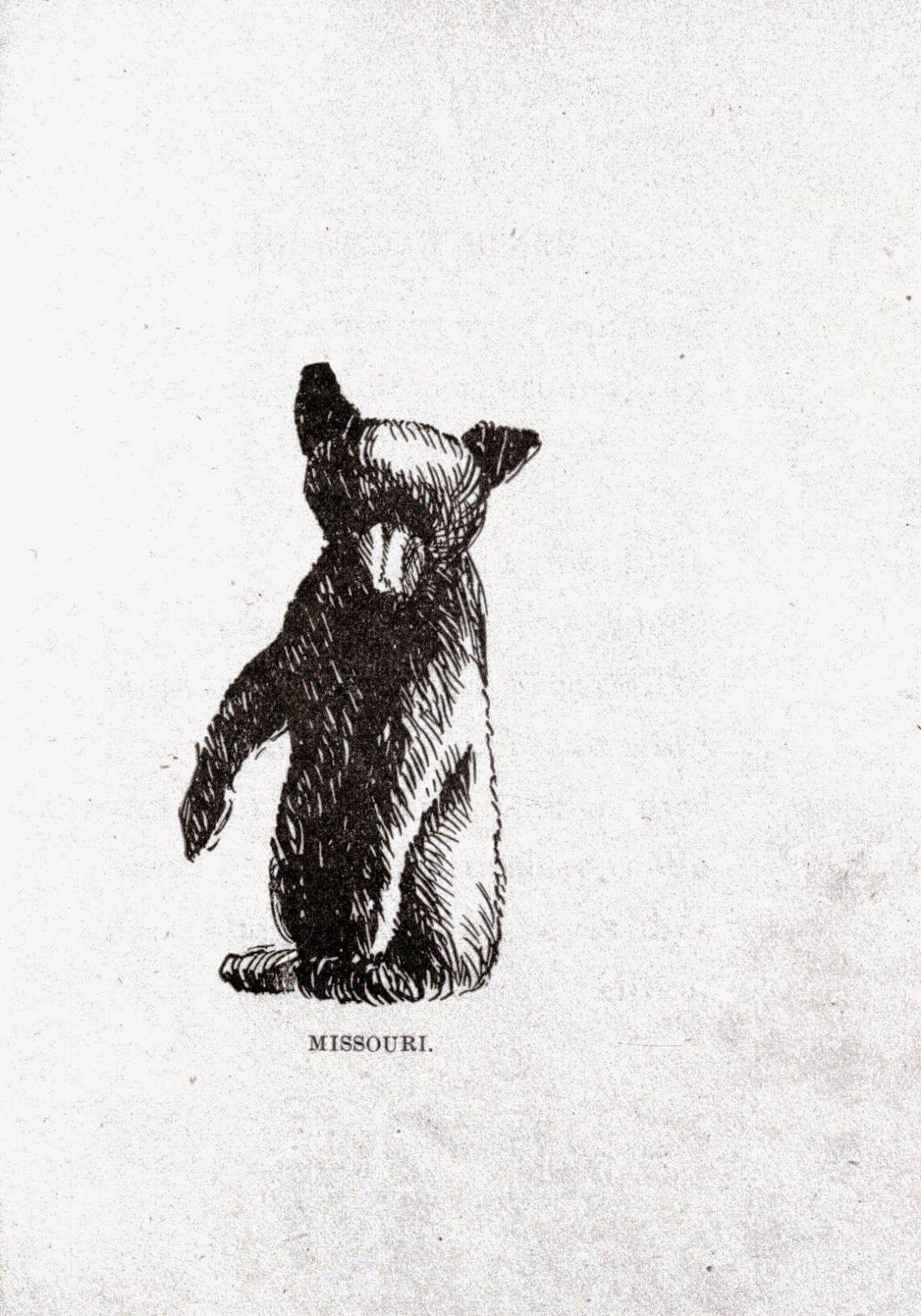 Vintage Bear Printables M A K E Blog