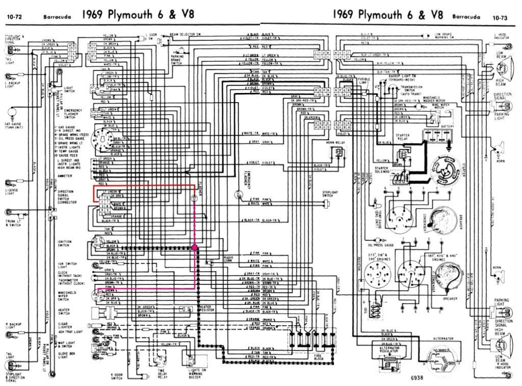 69 Barracuda Wiper Heater Turnsignal Zpscf33de37 | Stuff