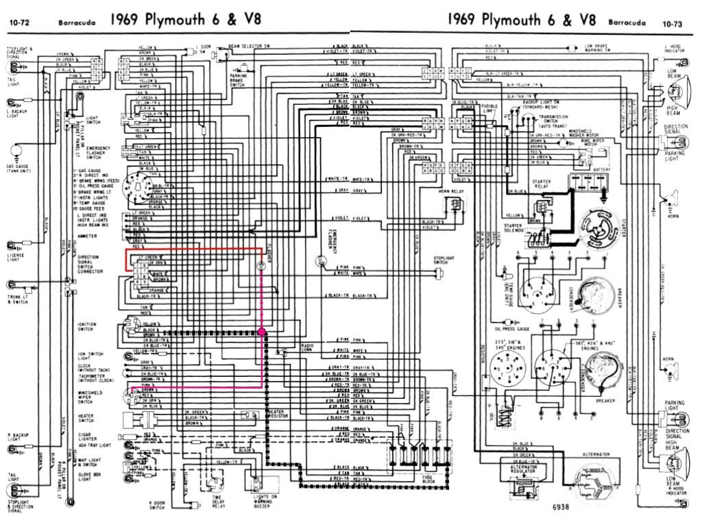 69 Barracuda Wiper Heater Turnsignal Zpscf33de37 | Stuff to Buy | 1969 plymouth roadrunner