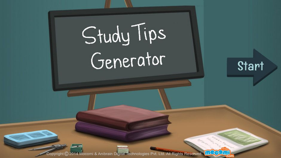 Try our #studytips generator and get bunch of ideas on how to study effectively! Learn how to prepare for exams and make a complete #studystrategy. For more interacting #Generalknowledge For #Kids, visit: http://mocomi.com/learn/general-knowledge/