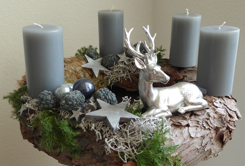 Weihnachtsdekoration  gestaltet von Anja Klinkert Floravisionen  The post Weihna…