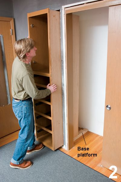 Get More Closet Space   Handyman Club   Scout. Replacing That Closet In The  Hall