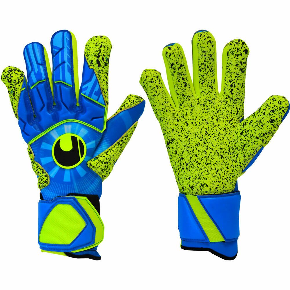Advertisement Ebay Uhlsport Radar Control Supergrip Hn Junior Goalkeeper Gloves Size 6 5 Goalkeeper Gloves Gloves Goalie Gloves