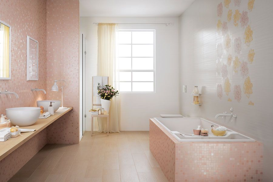 Bagno rosa rosa design interni pink interior design bathroom