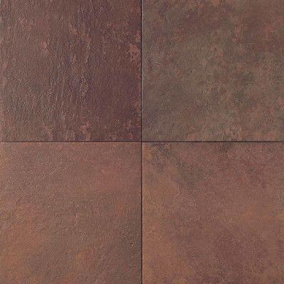 Daltile Continental Slate 6 X 6 Porcelain Field Tile In Indian