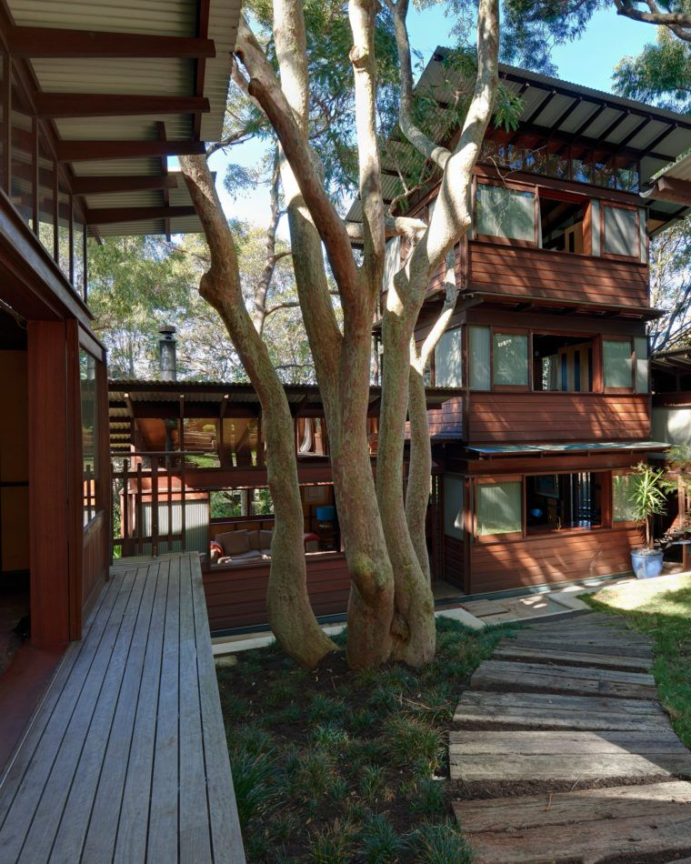 Home Modernhouse Design:  Modern House : Angophora House By Richard Leplastrier