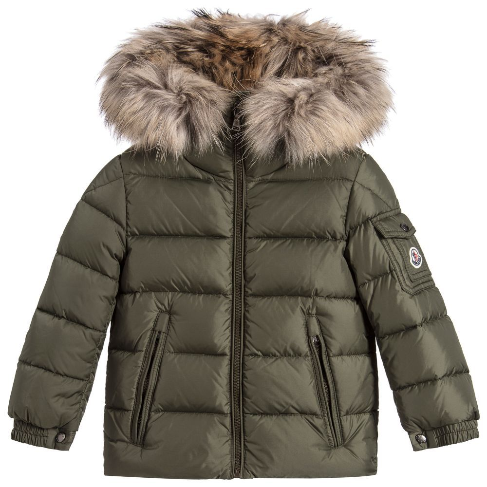 fd71b0e70f70 Moncler Boys  Byron  Down Padded Jacket at Childrensalon.com ...