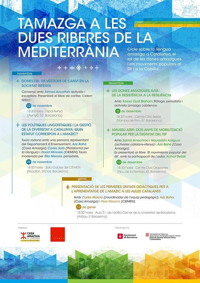 cicle Tamazga a les dues riberes de la Mediterrània