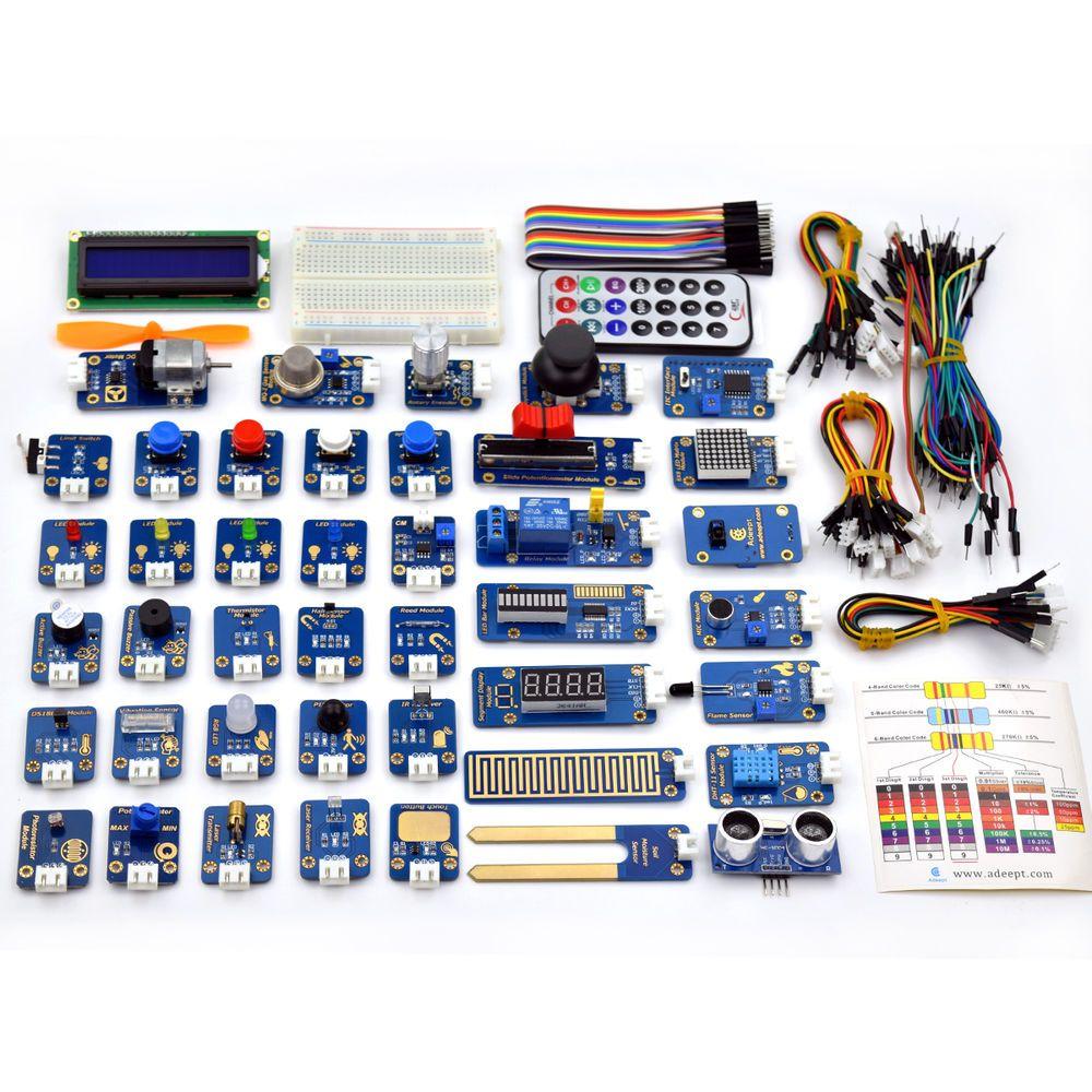 Adeept Sensor Module Ultimate Starter Kit For Arduino Uno R3