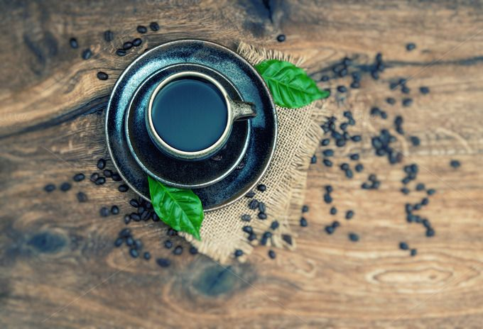 Check out Black Coffee by LiliGraphie on Creative Market