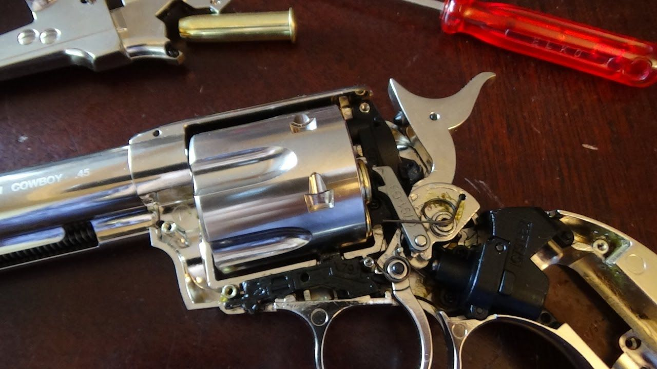 How To Almost Remove The Barrel On A Umarex Colt Peacemaker