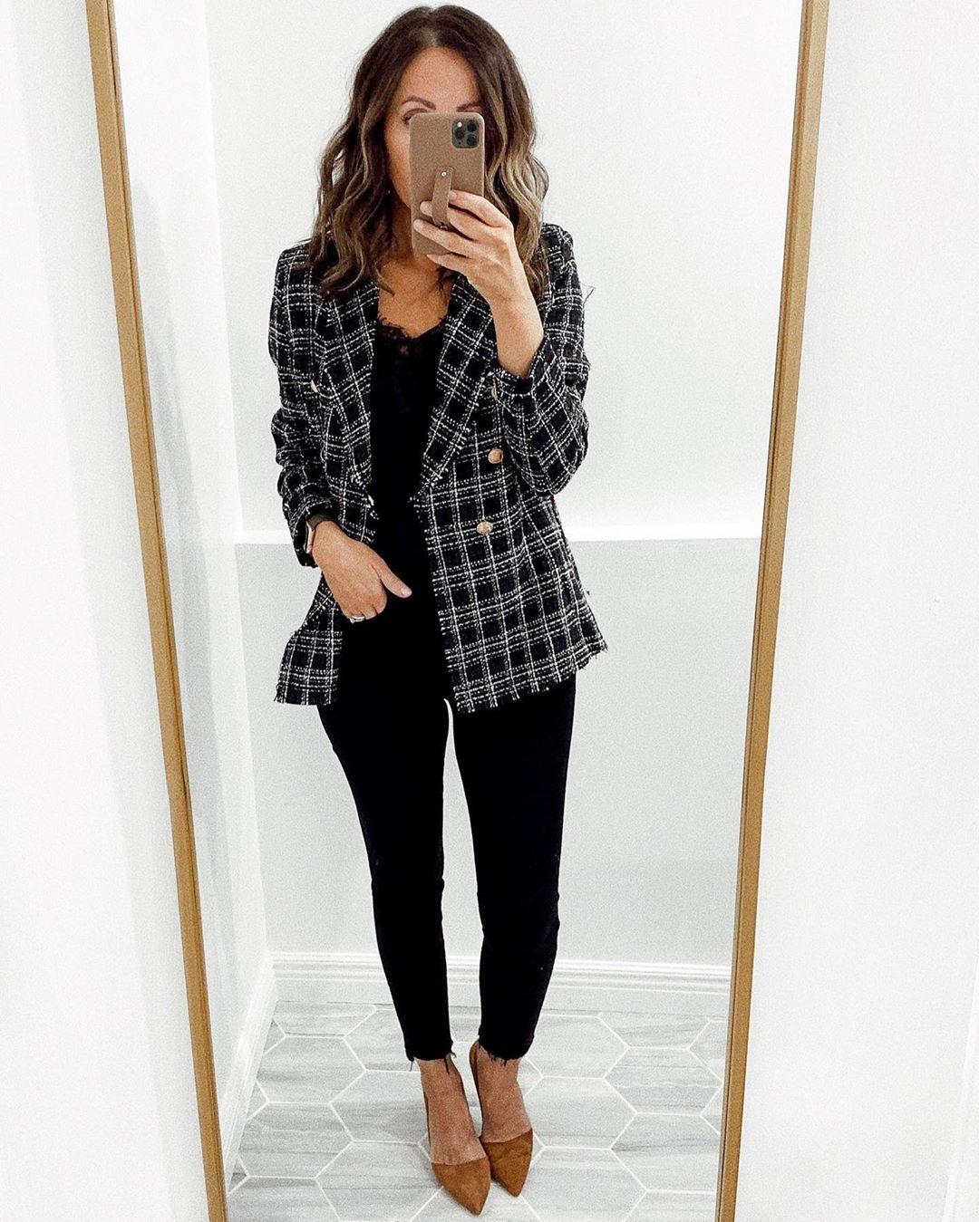 Tweed blazer #workattire