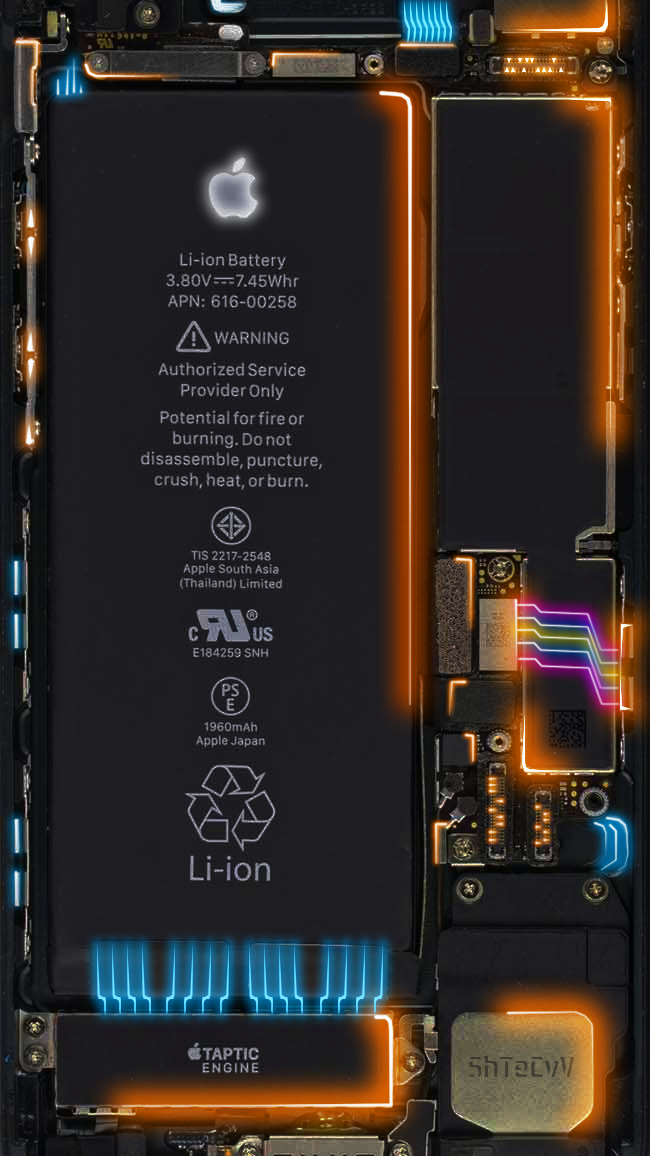 Iphone 7 8 Circuit From Shtecvv Wallpaper Iphone Telepon Ponsel